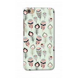 Crafting Crow Mobile Back Cover For Xiaomi Redmi Y1 Lite - Feather