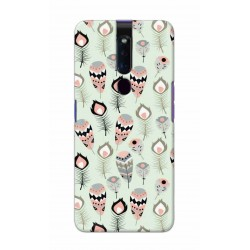 Crafting Crow Mobile Back Cover For Oppo F11 Pro - Feather