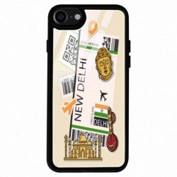 Buy Apple Iphone 7 New Delhi Mobile Phone Covers Online at Craftingcrow.com
